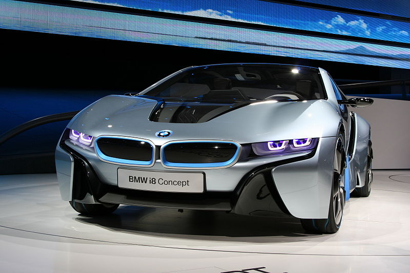 The Bmw I8 Plug In Car 15 December 2012 Today Technology