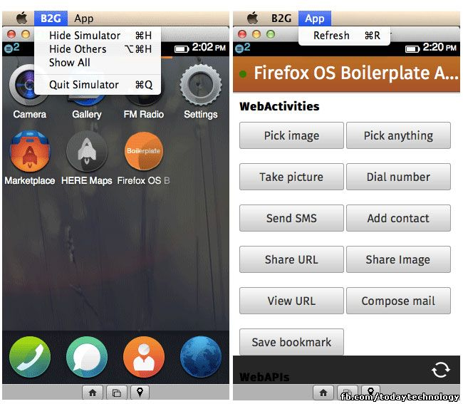 Firefox OS Simulator 3 0 Officially Released To All - 4 May
